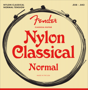 073-0130-400 Fender Ball End Classical Strings .028-.043 0730130400