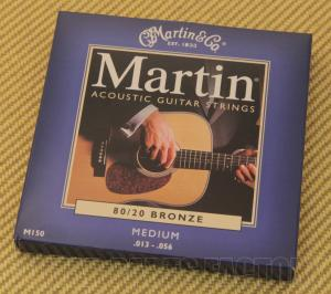M150 Martin Acoustic Guitar Strings Medium 80/20 Bronze