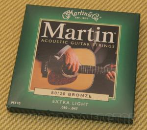 M170 Martin Extra Light 10-47 Acoustic Guitar Strings