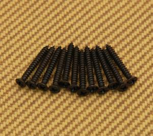 003-6822-049 12 Genuine Fender Bass and Hardtail Guitar Bridge Mounting Screws 0036822049