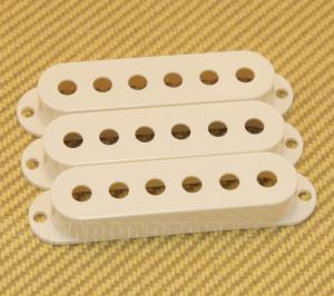 005-6251-049 (3) Genuine Fender Parchment Stratocaster/Strat Pickup Covers 0056251049