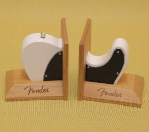 912-4785-000 Fender Telecaster Guitar White Body Bookends 9124758000