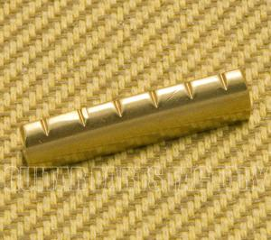 BN-1821-008 Slotted Brass Nut 43mm Gibson Style 6-String Guitar