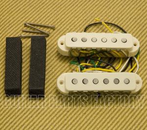 099-2271-000 Fender V-Mod Aged White Jaguar Guitar Pickup Set 0992271000
