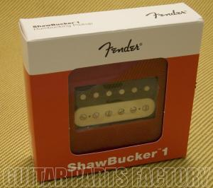 099-2249-001 Fender ShawBucker 1 Zebra Humbucker Pickup 0992249001