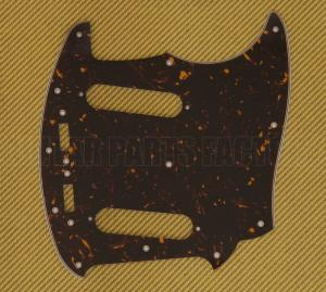 003-5571-000 Genuine Fender Japan Tortoise Pickguard for Mustang® Guitar
