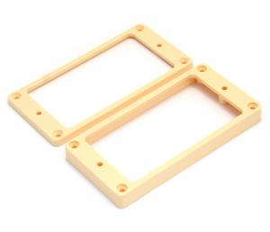 PC-0745-028 Flat Cream Humbucking Pickup Rings Non-slanted