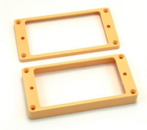 PC-0743-028 Slanted cream humbucker pickup rings
