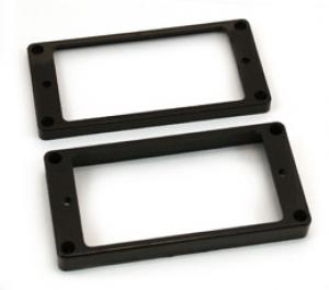 PC-0743-023 Slanted black humbucker pickup rings