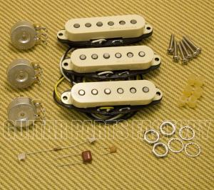 099-2115-000 Fender Aged White Vintage Noiseless Strat Pickups 0992115000