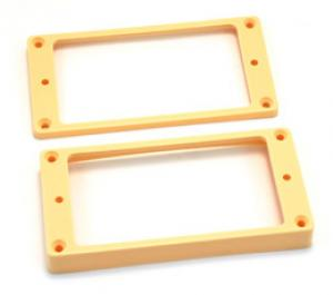 PC-0733-028 Cream curved bottom humbucker rings