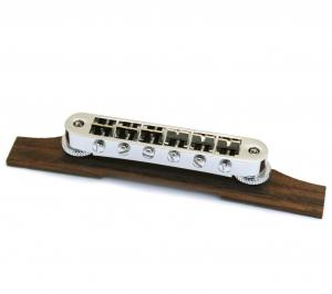 006-9824-000 Gretsch Chrome Electromatic Hollowbody Bridge G5120 Rosewood Base 0069824000