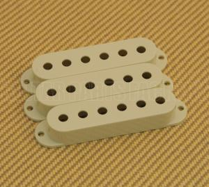PC-0406-024 3 Mint Pickup Covers Single Coil For American Strat Guitar