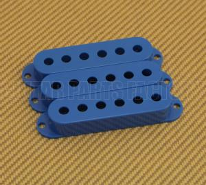 PC-0406-027 (3) Blue pickup covers for strat