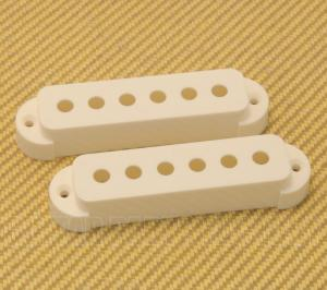 PC-6405-025 White Nylon Pickup Covers for Fender Jaguar