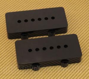 PC-6400-023 Black Pickup Covers for Fender Jazzmaster Guitar