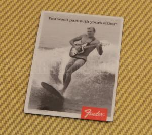 910-0248-000 Surfer Guy Guitar Magnet