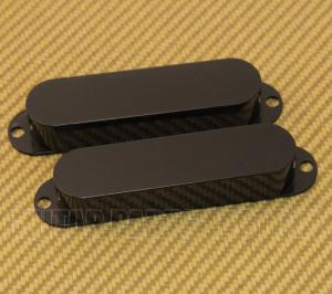 008-0149-049 Genuine Fender Black '65 Mustang & Bronco Bass Guitar Pickup Covers 0080149049
