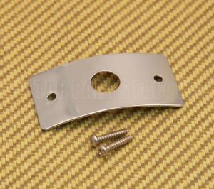 AP-0609-000 Chrome Jack Plate For Danelectro Guitar/Bass w/Mounting Screws
