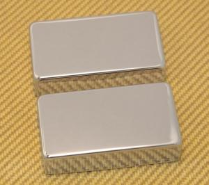 PC-0307-010 Chrome No Holes Humbucker Pickup Covers