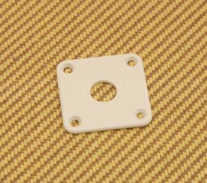 AP-0633-025 White Jack Plate for Les Paul