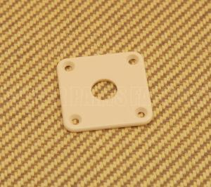 AP-0633-028 Cream Jack Plate for Les Paul