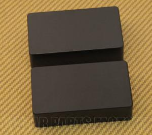 PC-0303-023 Black No Holes Humbucker Pickup Covers