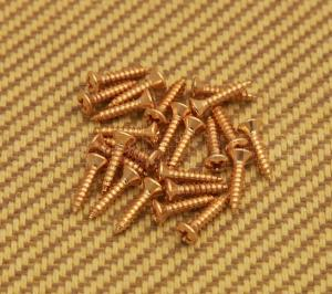 099-4924-000 Fender Gold Pickguard Screws Guitar & Bass 0994924000