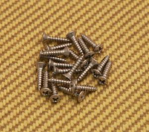 GS-0001-005 Stainless Pickguard Screws for Fender