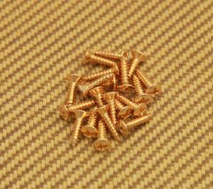 GS-0001-002 Gold Pickguard Screws for Fender