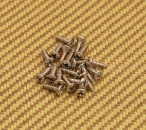 GS-0050-001 (20) Nickel Pickguard Screws for Gibson