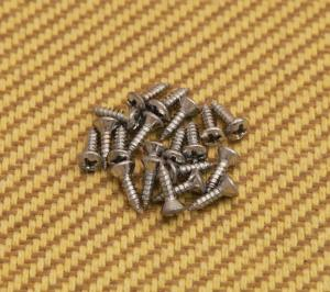 GS-0050-010 (20) Chrome Pickguard Screws for Gibson