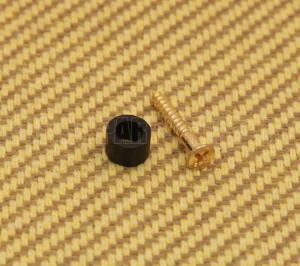 006-1015-000  Genuine Gretsch Gold Pickguard Screw and Spacer Guitar