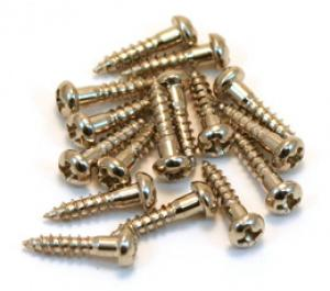 NICKEL 3/8 TUNER MOUNTING SCREWS