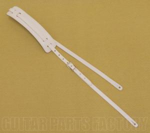 922-0664-005 Gretsch White Skinny Vintage Deluxe Guitar Strap Guitar or Bass 9220664005