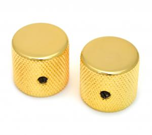 MK-0115-002 Gold Flat-Top Barrel Knobs
