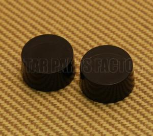 PK-3230-023 (2) Plain Black Guitar Speed Knobs