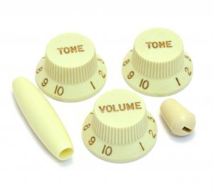 PK-0178-024 Mint Green Strat Knob Set Switch and Tremolo Tip for Guitar/Bass