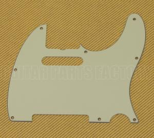 005-6077-000 Fender '62 Custom '60s Telecaster/Tele 3-ply Mint Notch Pickguard 0056077000