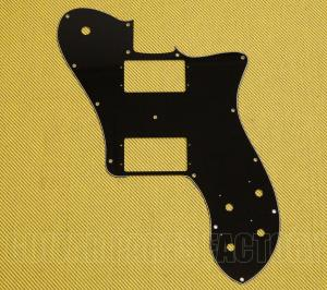 006-4310-002 Fender 3-Ply Black '72 Tele Deluxe Pickguard 0064310002