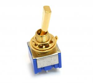 EP-0080-002 Gold Mini Switch On-On-On for Custome Guitar/Bass