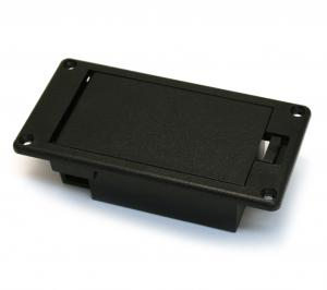 EP-0929-023 9 Volt Battery Compartment Flat Mount For Guitar/Bass Preamp