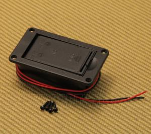 BC-HORIZON Horizontal Battery Box w/ Screws for Guitar/Bass