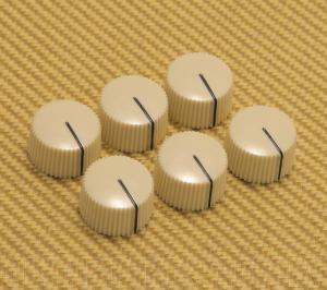 099-0933-000 Fender White Vintage Radio Amp knobs 0990933000