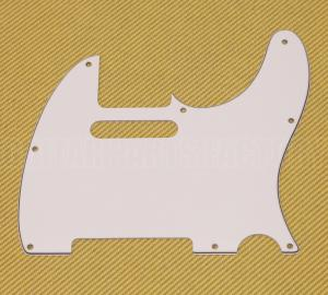 PG-0562-035 3-Ply White Pickguard for Standard Tele/Telecaster