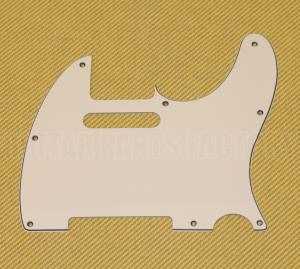 PG-0562-050 3-Ply Parchment Pickguard for Standard Tele/Telecaster