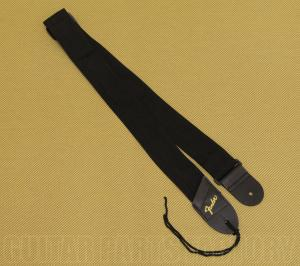 099-0606-049G Genuine Fender Black/Gold Logo Pick Pouch Strap for Guitar/Bass 0990606049G
