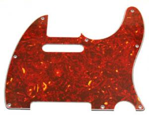 PG-0562-044 Red Tortoise Pickguard for Tele