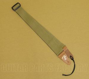 099-0687-000 Genuine Fender Tweed Vintage Amp Style Cotton F Guitar/Bass Strap 0990687000