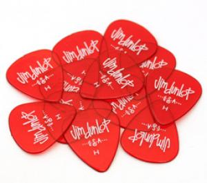 DLP-GRH (12) Dunlop Gels Heavy Red Picks